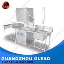 Cheap hotel sanitizing automatic countertop commercial dishwasher