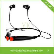 2014 shenzhen factory necklace bluetooth headphone with USB