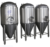 1000L cone fermentation tank with cooling jacket
