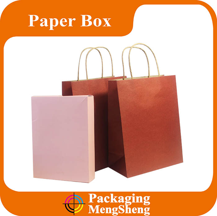 beautiful environmentally friendly recycled thin handle bag for shopping