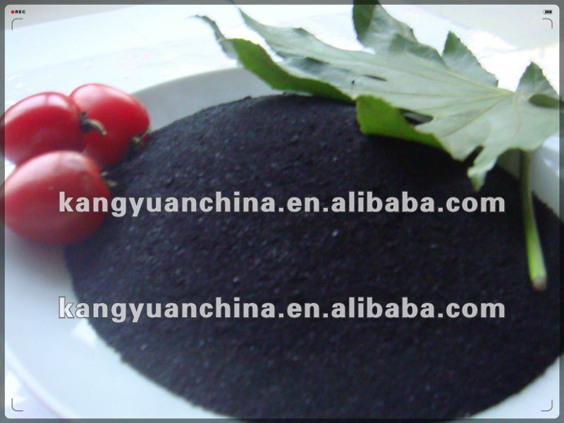 preparation of organic fertilizer super potassium humate