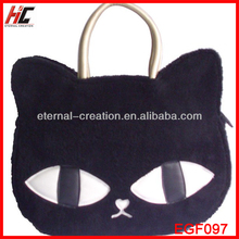 2013 The Best Selling Products Made in China New Winter Handbag With Cat Design