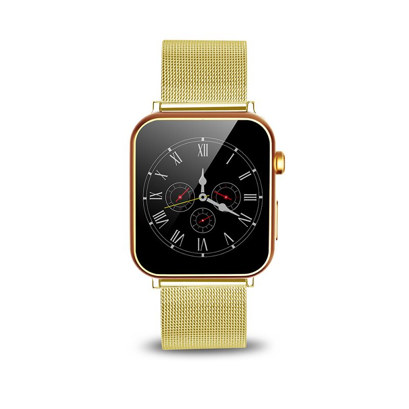 Touch screen 1.54 smartwatch a9 bluetooth 4.0 smart watch for apple ipho with metal strap