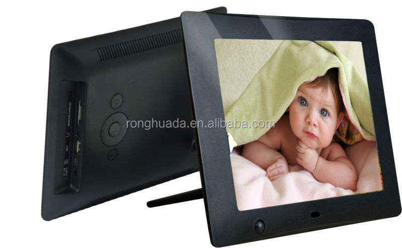 high resolution 8 inch digital photo frame electric digital picture frame