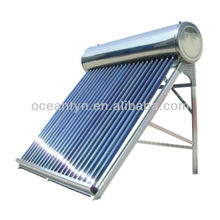 Sunny Water Solar heating system, CE and ISO certified all stainless steel solar water heater with 58*1800mm glass tubes