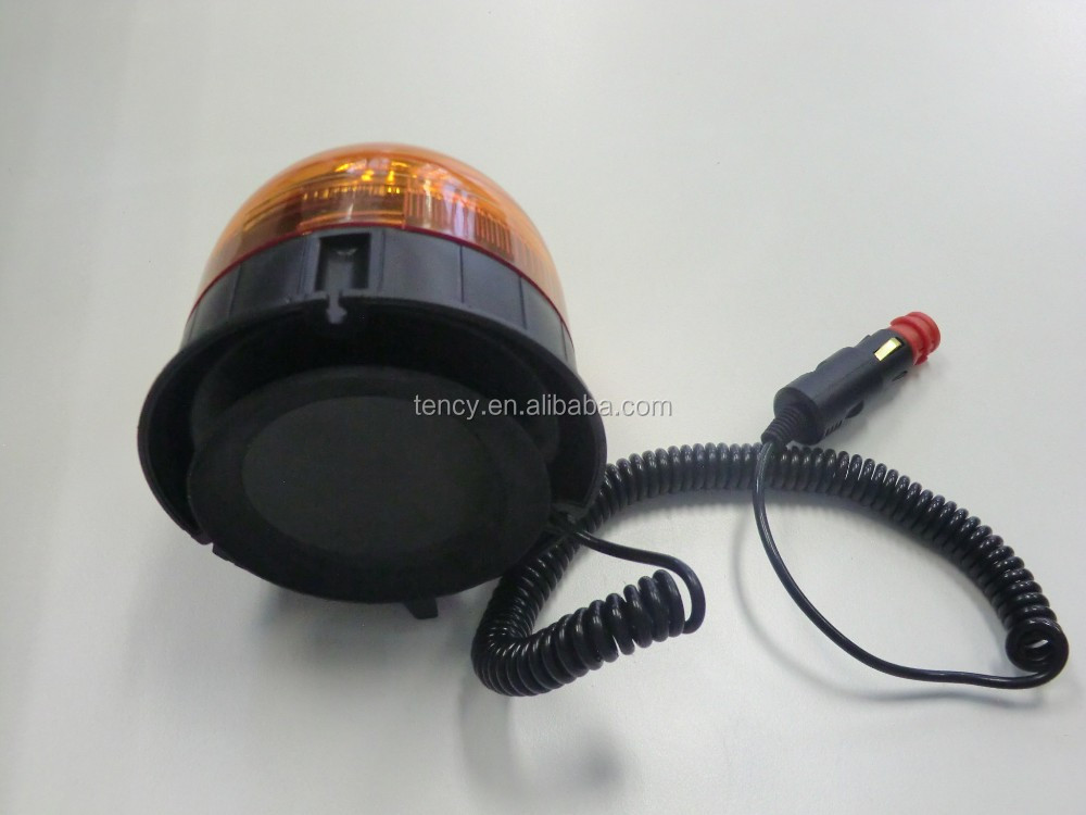 New R65 Super Bright LED Warning light, Car Warning Beacon(KF-WB-28FM),12pcsx3W High Power LED,With Magnet