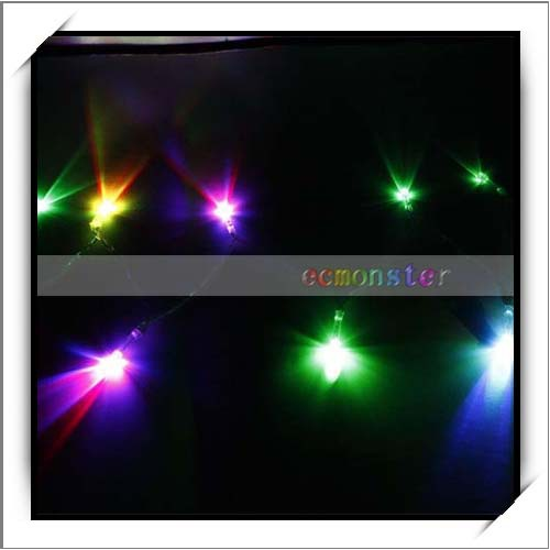 3V 1m 10 LED Christmas Decorative Multicolor RGB Mini LED String Light
