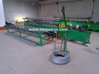 used chain link fence making machine for sale factory