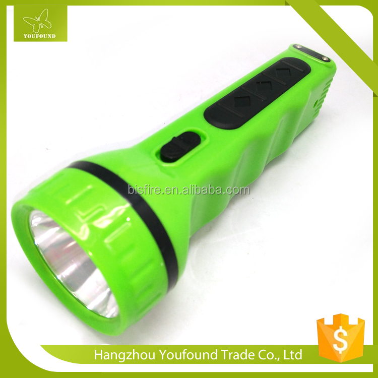 BN 414S Classic Home Emergency LED Solar Power Rechargeable Torch Flashlight