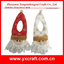 Christmas decoration (ZY13L335-1-2 30CM) christmas hanging ornament santa claus gift idea
