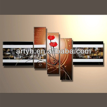 Hot order handpainted art painting of canvas painting patterns