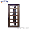 Easy cleaning aluminum wood casement window with wide use