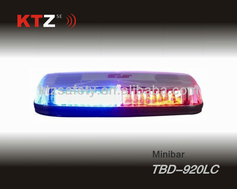 police car 1W high power LED power form warning flashing lightbar (TBD-920LC)