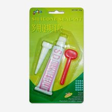 Small pack window sealant, aluminum and glass silicone sealants