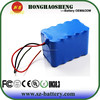 Li ion battery 12v 15ah rechargeable lithium ion battery 3s5p for Energy Storage