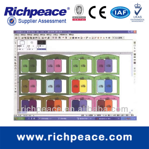 Richpeace Apparel Cad Software (GTS)