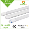 950 lumen dimmable led welded tube 666 with customisable lumen efficiency and packaging