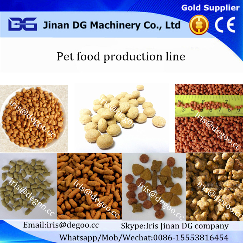 Grain free organic dry pet /dog/cat/fish pellets snack feed chew food making machinery/production line/manufacturing equipment
