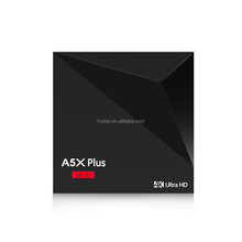 NEXSMART A5X plus 4K Android TV Box Android7.1 Support 4K Ultra HD TV with Rockchip RK3228 Quad-core 2.4G Wi-Fi 1GB + 8GB