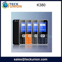 K380 1.77inch chip price high quality china mobile phone with soft keypad