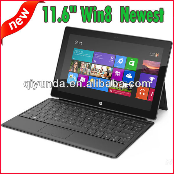 2013 Newest Tablet pc intel Celeron 1037U 11.6 inch Microsoft Win8 Intel chipset tablet pc with docking keyboard