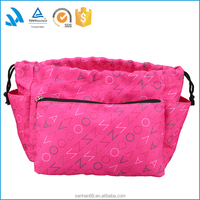 Fashion private label travel cosmetics bag for girls 2015