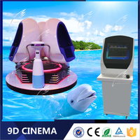 TOP Virtual Reality Motion Simulator Virtual Reality Games Gun 9D Driving Cinema Simulator