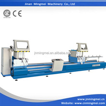 LJZ2R-CNC-500*6000 CNC arbitrary angle double head cutting saw machine for pvc window frame