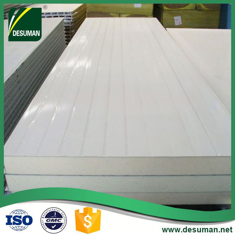 DESUMAN new style ergonomic design cool room polyurethane sandwich panel