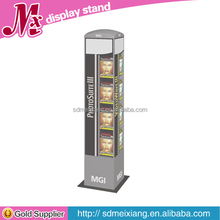 MX-WP014 Floor standing cell phone accessory display rack / cell phone accessory display stand / wooden showcase