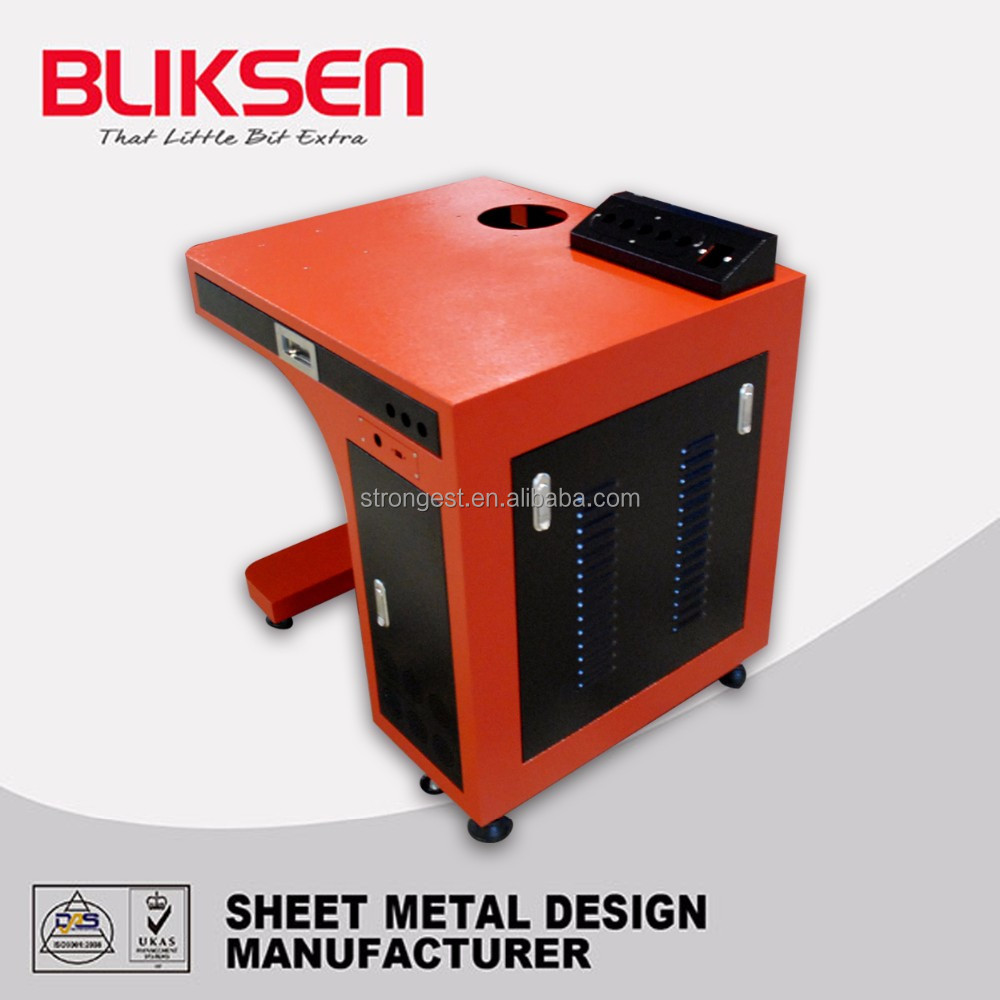 Stainless steel / sheet metal electrical control instrument cabinet