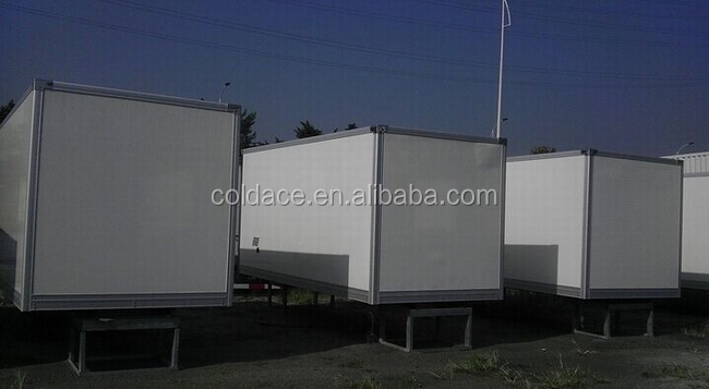 Customized refrigerator white used cold room units for truck and car