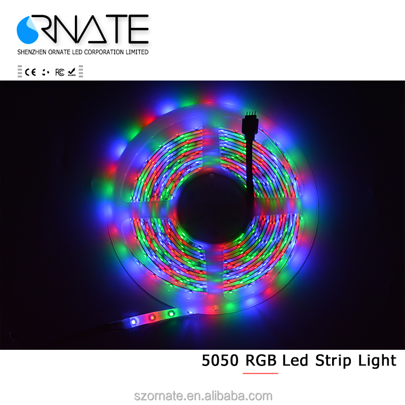 5050 rgbw flexible waterproof rgb led strip 24v with remote controller 60led/m