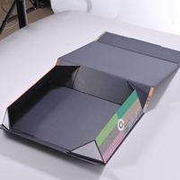 2016 hot high quality cardboard folding gift boxes with hinged lid