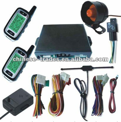 car security system- two way car alarm with engine starter
