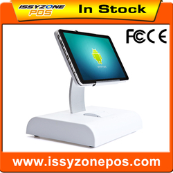 IZP028 White Android Pos system Touch Capactive Screen All in one POS