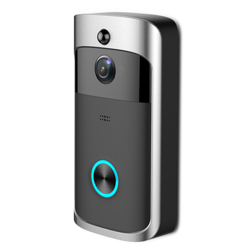 High Quality 1.0Megapixels 180 Degree Wide View Angle Wifi Doorbell IP Camera