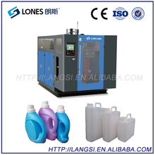 Durable Using Low Price LONES LS-S5L 700PC/h 5L Bottle Plastic Film Extrusion Blowing Machine Price