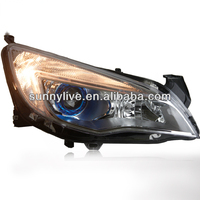 For Excelle XT Opel Astra LED Angel Eye Head Lamp 2010 - 2013 year V3
