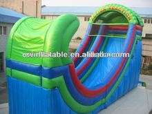 inflatable bouncy castle with water slide,giant inflatable pirate ship slide
