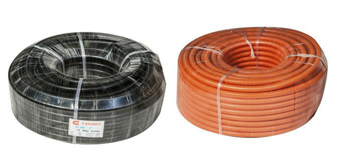 25mm 32mm PP Flexible Corrugated Electrical Conduit Pipes