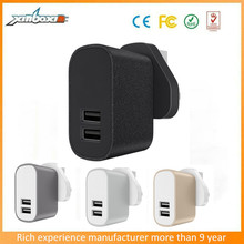 manufacture price mobile accessories 3.1a 2 port portable phone charger for iphone6 mobile phone samsung galaxy s6