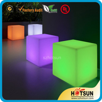 Customize LED lighting plexiglass cube, light up plexiglass light box