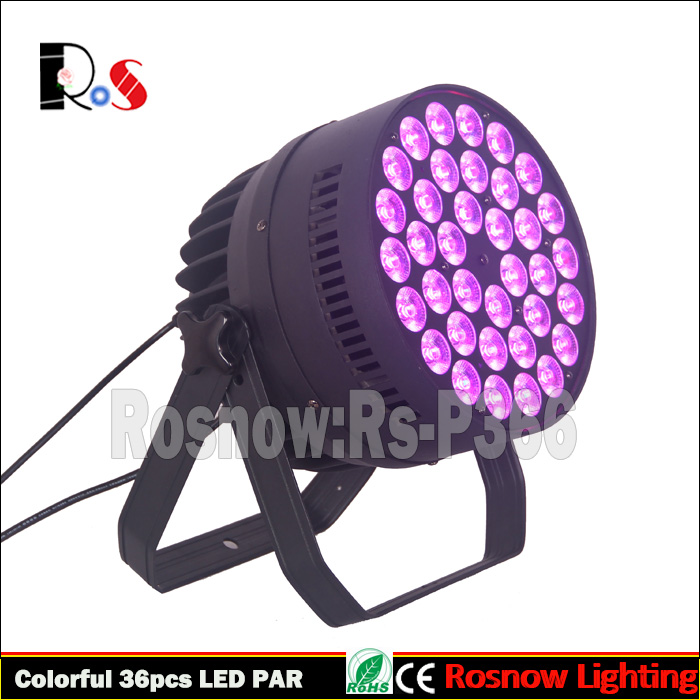 chinese imports wholesale 36pcs flat par 12w RGBWA+UV 6in1 LED digital display indoor show light