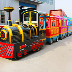 Children Amusement Rides Trackless Train Amusement Games Customized Designed Attraction