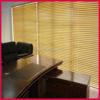 good quality plain blackout blind PVC office curtains and blinds