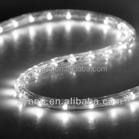 top quality IP65 round two wire 12v cuttable led rope light