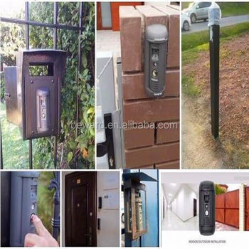 SIP IP Intercom system video door phone access control ONVIF