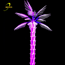 LED Holiday Tree lights pink lighting palm tree
