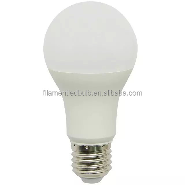 Led bulb parts plastic white housing conductive e27 5w led bulb manufacturing machine